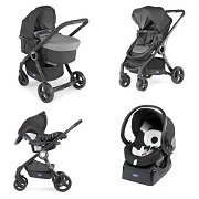 CHICCO Poussette Combinée Trio Pack URBAN PLUS - Anthracite