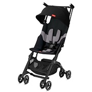 gb GOLD Poussette-canne Pockit Plus tout-terrain Velvet black 2019